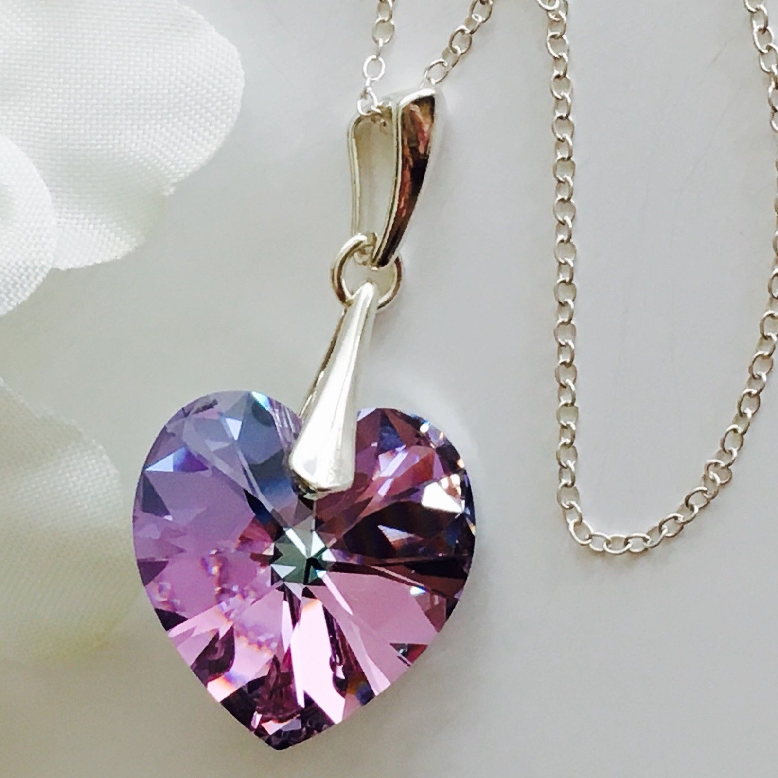 95ca7904acbe Swarovski Elements Vitrail Light Heart