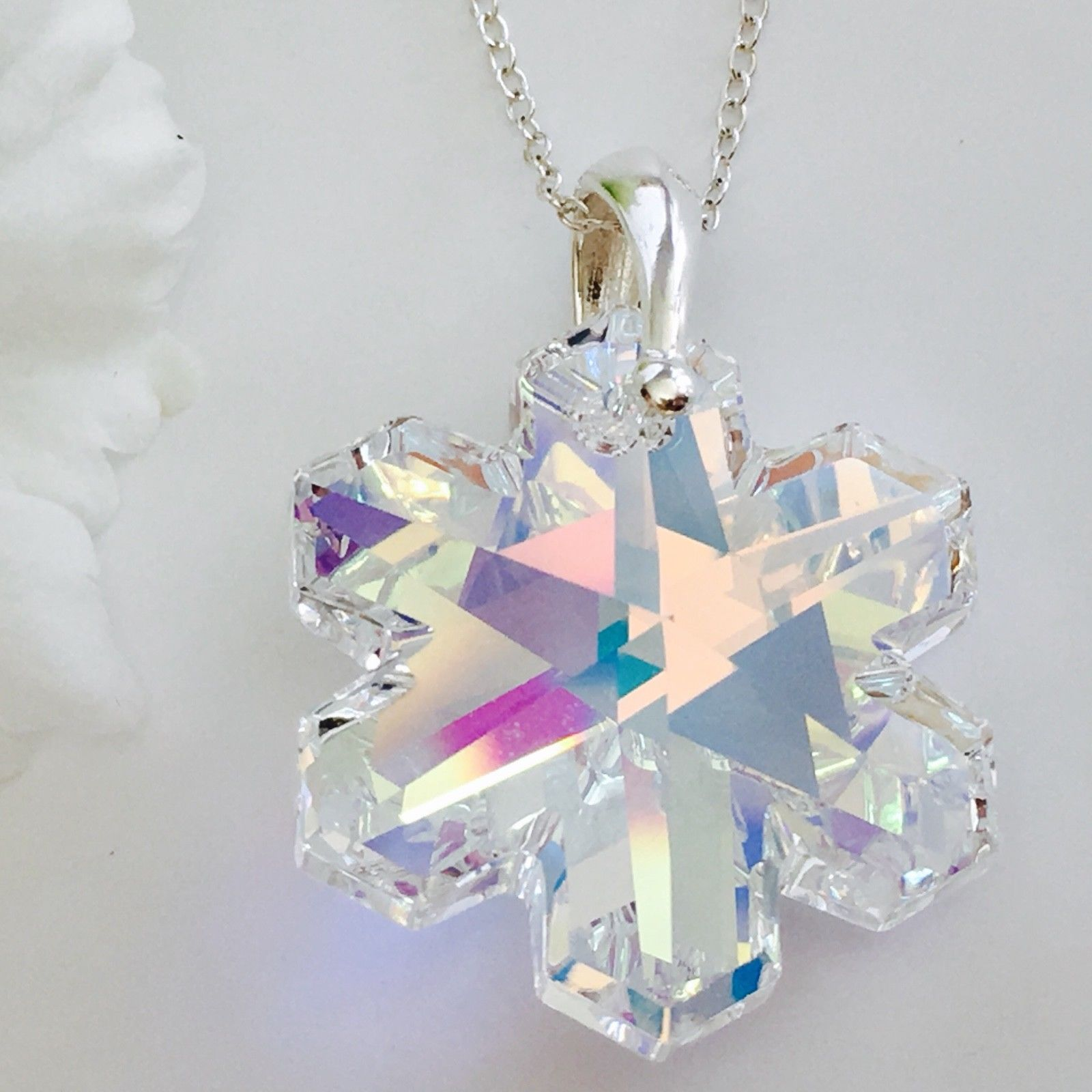 0cc5ce5442 Swarovski Elements AB Snowflake | Crystal Elegance