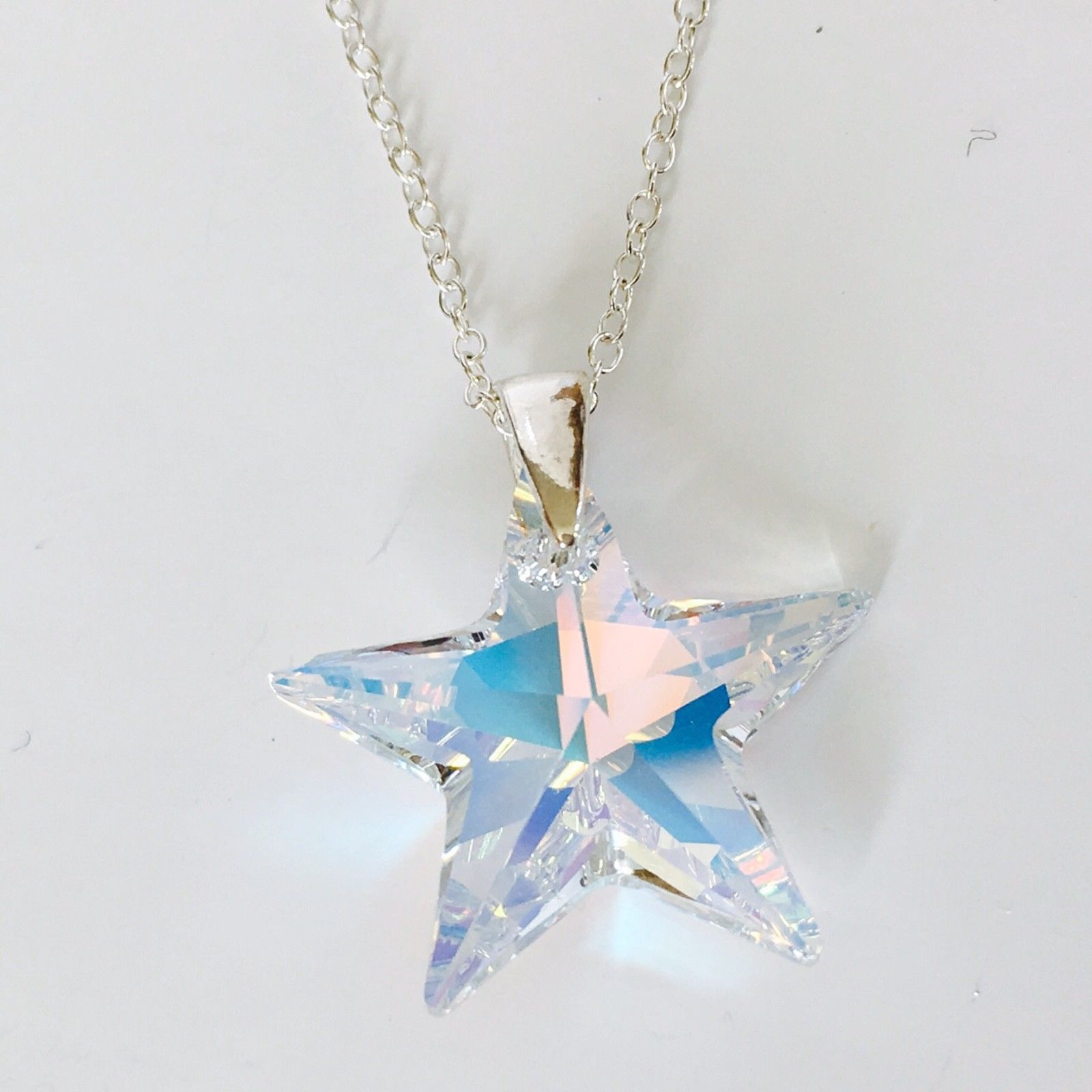aa95886dc Swarovski Elements Clear AB Star   Crystal Elegance